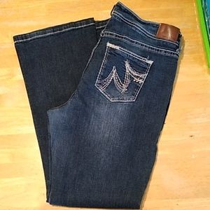 EUC 22 LONG MAURICES BOOTCUT JEANS Style Original